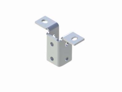 單面槽鋼固定底座Ⅰ