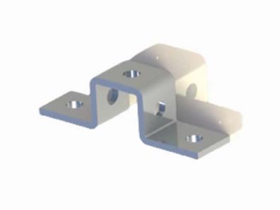 單面C型槽鋼連接件