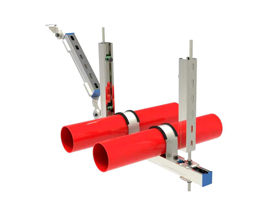 多管側向抗震支架