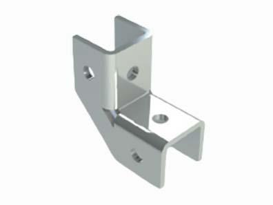 抗震專用槽鋼連接件