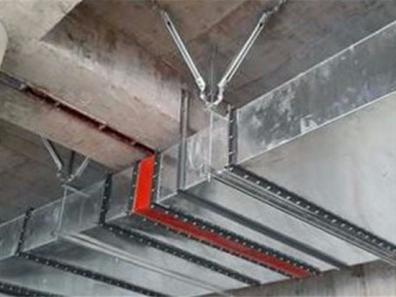 電氣橋架雙向抗震鋼性支吊架