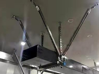 地下裝配式支吊架