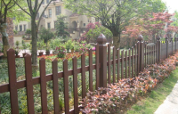 防腐木庭院