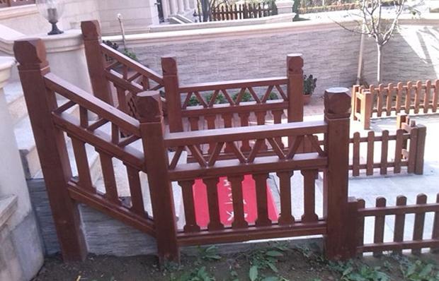 防腐木護欄