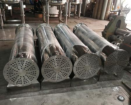 列管式冷凝器合作案例