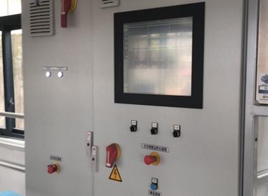 PLC控制面板