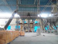 磨粉收料系統