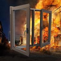 鋁質防火窗