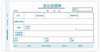 華欣軟件科技  支出單
