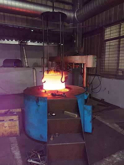 井式滲碳爐