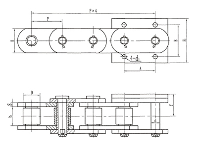 NSE鏈斗輸送機鏈條