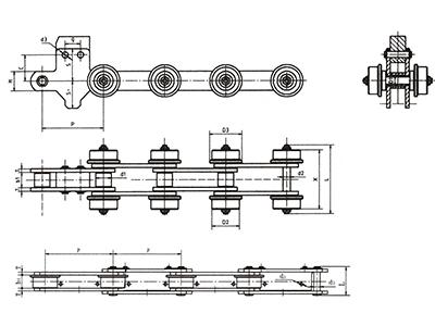 湖北裝配線輸送鏈