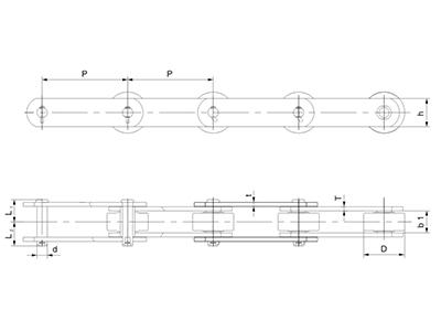 直板型糖機鏈