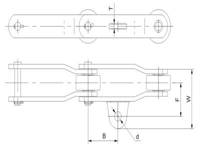 彎板型糖機鏈附件2
