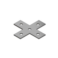 平面十字連接件
