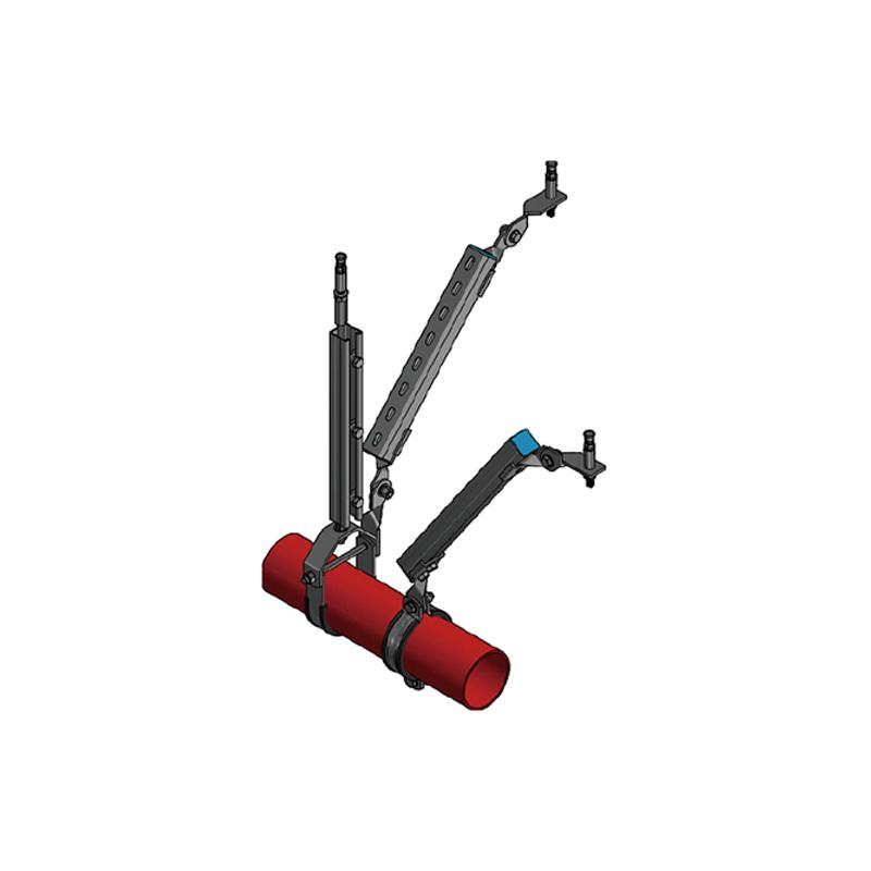 成品抗震支架廠家介紹防震支架的優點是安全可靠