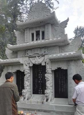 四川青石墓碑雕刻