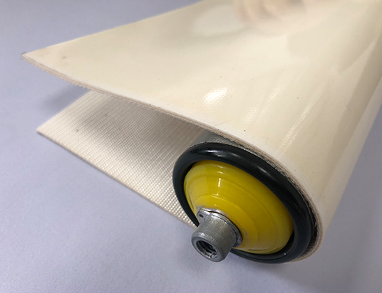 2mm白色PVC平帶