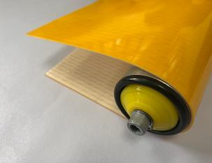 1.5mm黃色PU帶