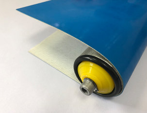 3mm天藍色PVC平帶