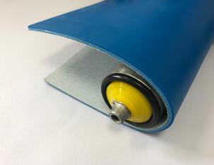 4mm藍色PU平帶