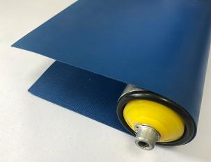 0.6mm藍色PU平帶
