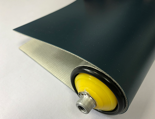 2mm墨綠色PVC平帶