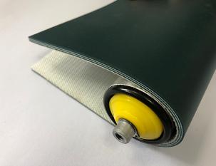 4mm墨綠色PVC平帶