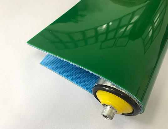 3mm蘋果綠PVC平帶