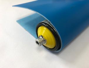 2mm天藍色PU帶