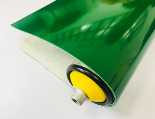 2mm蘋果綠PVC平帶