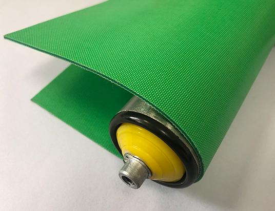 2mm綠色PVC雙面布紋