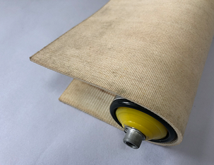 3mm白色PVC雙面帆布帶