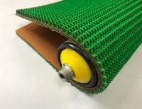 7.5mm綠色橡膠草花紋