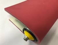 8mm紅色橡塑膠布紋