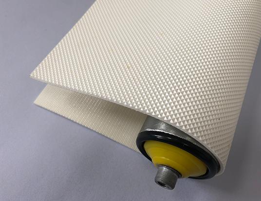 2.5白色PVC單面鉆石紋