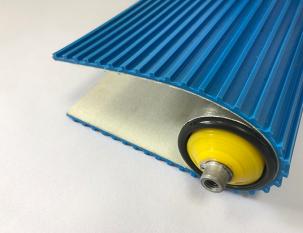 5.3mm藍色PVC橫條紋