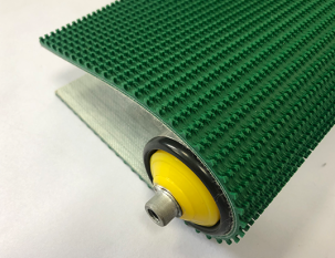 5.2mm綠色PVC鋼模草花紋