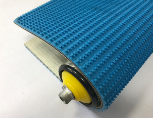 5.5藍色PVC草花紋