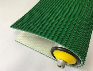 4.5mm綠色PVC草花紋