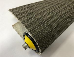 4.5mm灰色布紋PVK