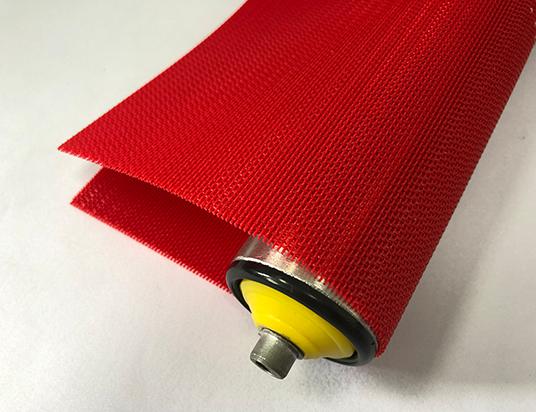 1.6mm紅色聚酯平網