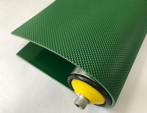 3mm綠色PVC鉆石紋