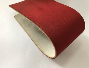 3.2mm紅色片基單面牛皮帶