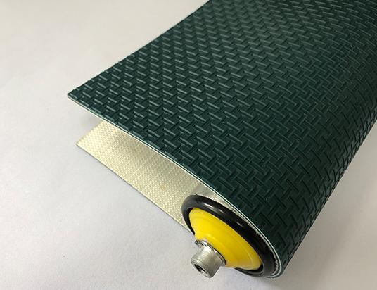 3mm墨綠色PVC工字紋