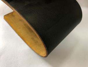 5.3mm黑色PU片基耐切割帶