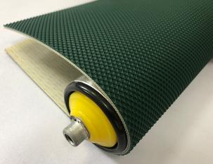 3mm墨綠色PU漁網紋