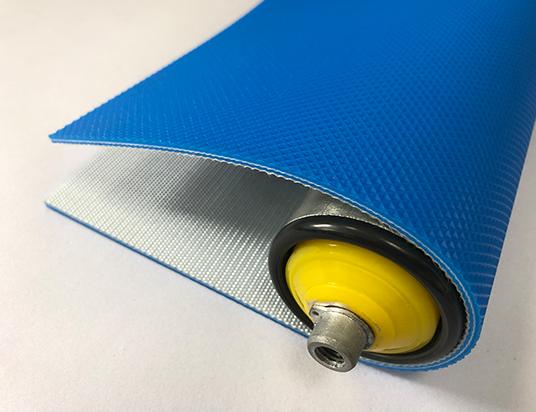 3mm藍色PVC鉆石紋