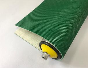 2mm綠色PVC單面鉆石紋