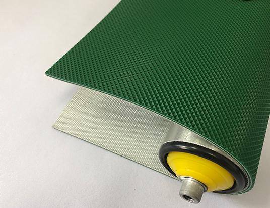 3mm綠色PVC單面鉆石紋